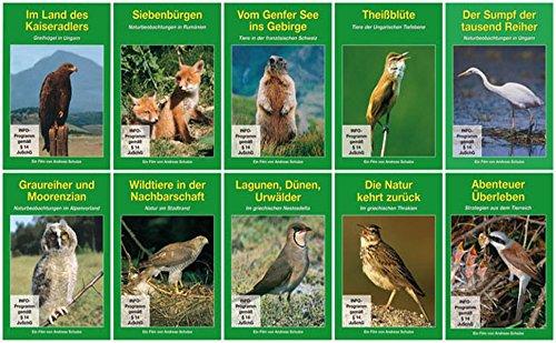 Natur und Tierwelt Europas [10 DVDs]