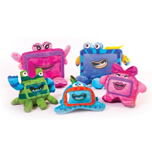 Wise Pet 900003 - Pinky Cuddly Toy per Smartphones Blue
