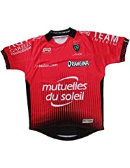 Toulon 2017/18 - Maillot de Rugby Réplique Domicile - Rouge