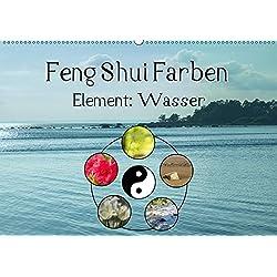 Feng Shui Farben - Element Wasser (Wandkalender 2019 DIN A2 quer): Die Farbe Blau steht im Feng Shui für das Element Wasser (Monatskalender, 14 Seiten ) (CALVENDO Natur)