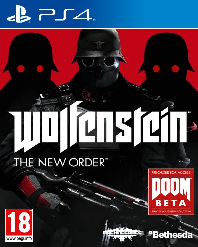 PRE-ORDER! Wolfenstein The New Order Sony Playstation 4 PS4 Game UK