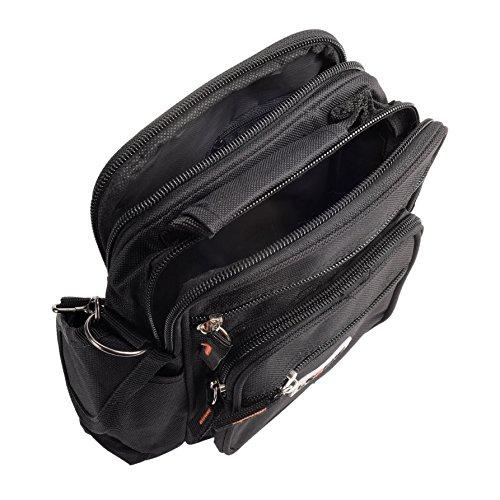 Unisex Mehrzweck Mini Schulter/Travel Utility Work Bag praktisch Handlich Herren–