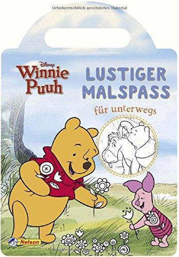 VE 5 Disney Winnie Puuh: Lustiger Malspaß für (Pooh Ferkel Bär Und)