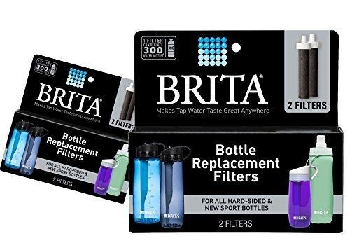 (2 Packs) Brita Replacement Bottle Filters(Model (BB06), 2 Ct. ea., 4 total filters by Brita