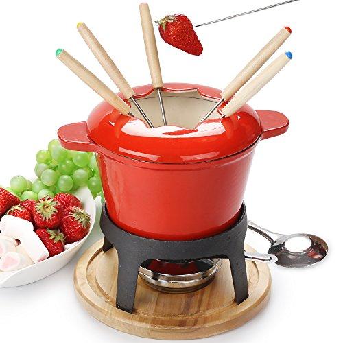 Services à fondue savoyarde fondue bourguignonne fonte de 6 fourchettes / DIY Fonte fond de chocola