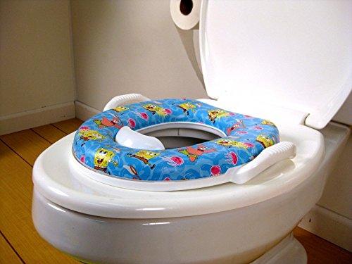 RIANZ Imported Baby Extra Soft Potty Seat for Baby Boy & Girl (With Handle)