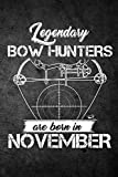 Best CreateSpace Independent Publishing Platform Archery Bows - Legendary Bow Hunters Are Born In November: Funny Review
