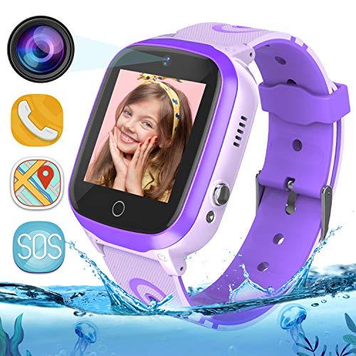 MeritSoar Tech Reloj Inteligente Smartwatch para Niños - WiFi + GPS +...