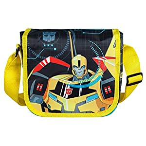 510Q3ykRugL. SS300  - Undercover TFUV7293 – Mochila infantil para colgar, Transformers con diseño de Bumblebee, aprox. 21 x 22 x 8 cm.