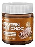Body Attack PROTEIN NUT CHOC - Geschmack: Hazelnut Super Crunch, 2er Pack (2x 250g)