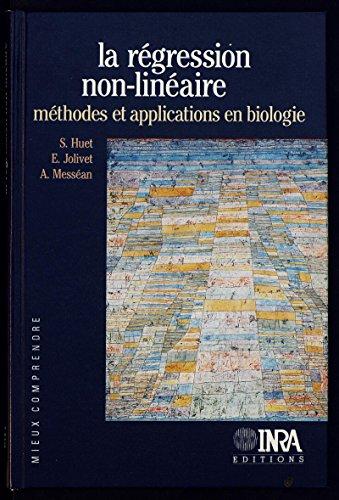 La régression non-linéaire: méthodes et applications en biologie (Mieux comprendre)