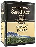 2x GRAN SAN-TIAGO MERLOT SHIRAZ BAG IN BOX 5L Incl. Goodie von Flensburger Handel