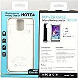syr-new externer 4800mAh superdünn Power Bank Fall Pack Rückseite Akku laden für Galaxy Note 4N9100