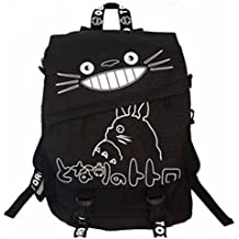 new Escuela Mochila Cartoon Casual Cartera de libros Backpack Cheshire Gato totoro rare