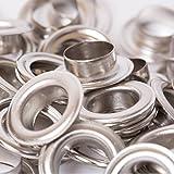 BIG-SAM - Ösen mit Scheiben - 4/5/8/11 oder 14mm in Silber (11mm)