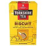 Yorkshire Tea Biscuit Brew Tea Bags, Pack of 4 (total of 160 tea bags)