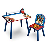 Paw Patrol Activity Desk and Chair with Paper Roll