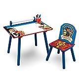 Delta Children TT89535PW Bureau avec Rouleau de Coloriage Intégré Motif Pat'...