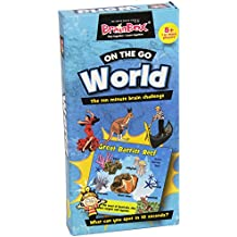 BrainBox - On the Go World, juego de mesa en inglés (90081)