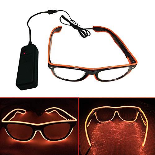 El Wire LED Gläser, Spezielle Shutter Light Monochrom -