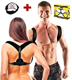 Posture Corrector For Men or Women – Back Support Brace – Physical Therapy