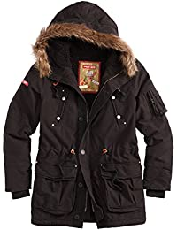 SURPLUS PARKA LONG SOLDAT SUPREME CHAUD HIVER A CAPUCHE