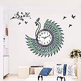 SUNQIAN-Creative living room modern clocks, art clock mute table wall charts