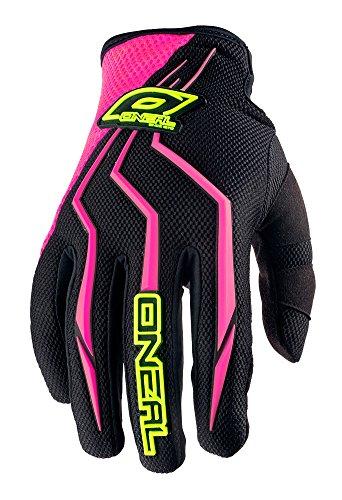 O'Neal Element Damen Handschuhe Pink Schwarz MX MTB DH Motocross Enduro Offroad Quad BMX FR, 0390-7, Größe XL