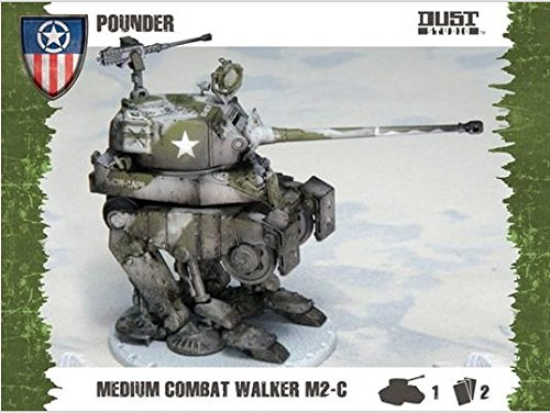 Dust Tactics Model Kit - Medium Kampf Walker M2-C Pounder - D501 - Neue