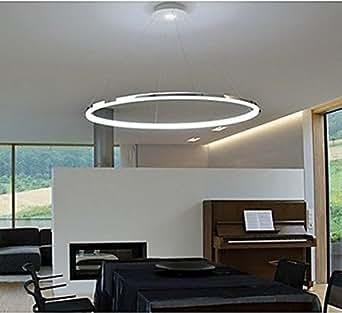pendelleuchte modernes design wohn led ring beleuchtung. Black Bedroom Furniture Sets. Home Design Ideas