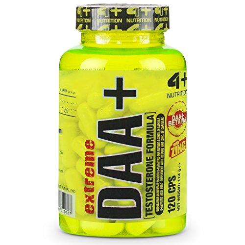 4+ Nutrition IAF00064835 Extreme DAA+, 120 Capsule