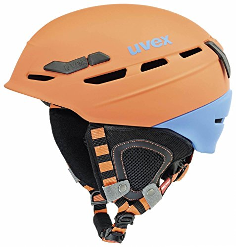Casco Uvex p8000 tour per arrampicata, sci, bicicletta e alpinismo.