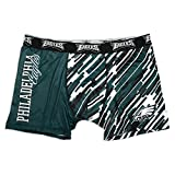 Philadelphia Eagles NFL Wordmark Compression Boxer Shorts Underwear