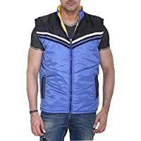 Colors & Blends - Men's Quilted Sleeveless Jacket