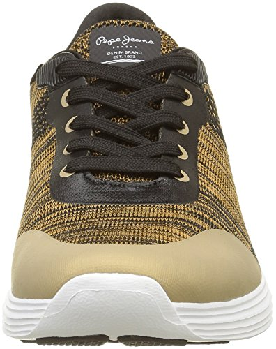 Pepe Jeans - Dakota, Sneaker Donna Oro (Or (099Gold))