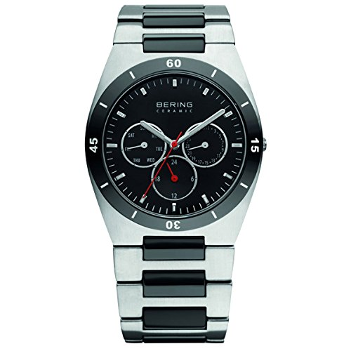 Bering Ceramic Stahl 32341-742 Herrenuhr Safirglas ceramic steel  watch