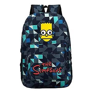 510QJoQ7srL. SS300  - The Simpsons Casual Mochilas Escolares para Mujeres y Hombres Popular Mochila de Viaje Moda Mochila para Deportes al…