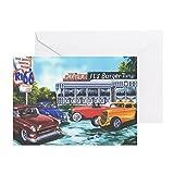 CafePress–itsburgertime _ CP _ 90%–Grußkarte, Note Karte, Geburtstagskarte, innen blanko, matt