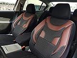Sitzbezüge k-Maniac | Universal schwarz-rot | Autositzbezüge Set Vordersitze | Autozubehör Innenraum | Auto Zubehör für Frauen und Männer | V335352 | Kfz Tuning | Sitzbezug | Sitzschoner