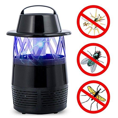 ... UV Licht Insektenlampe Mückenlampe Insektenfalle Mückenschutz Ohne  Chemie Geruchsneutral Ventilator Falle USB Ladung Anti Moskito Fänger  (Schwarz)