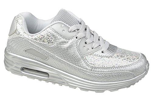 gibra, Sneaker donna Argento