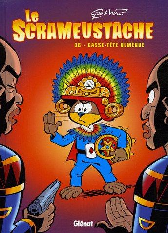 Le Scrameustache, Tome 36 : Casse-tête olmèque