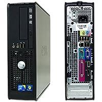 Refurbished Dell 780 Dual-Core E5400 2.70GHz 4GB 160GB DVDRW Windows 7 Pro 64 Bit SFF / DCCY