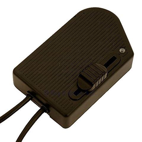 4.RT81.B 60-300W In-line foot dimmer for floor standard lights -
