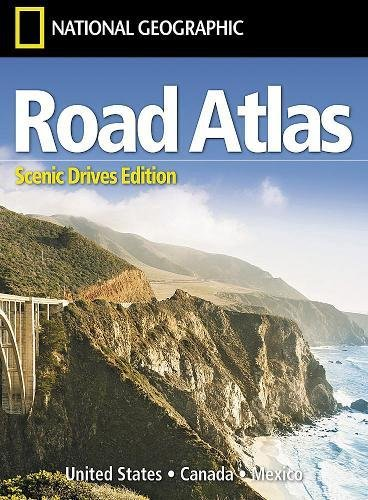 Road Atlas: Scenic Drives Edition (united States, Canada, Mexico) (National Geographic Recreation Atlas)