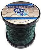 Reaction Tackle Linea pesca intrecciata ad elevate prestazioni (vari colori) Moss Green