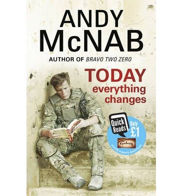 Portada del libro [(Today Everything Changes: Quick Read)] [ By (author) Andy McNab ] [January, 2013]