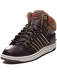 check out d4a8a b9ea7 adidas Hoops LX Mid Dark BrownTimber