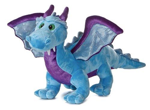 dragon-de-bleu-de-la-peluche-14-de-laurore-avec-le-bruit
