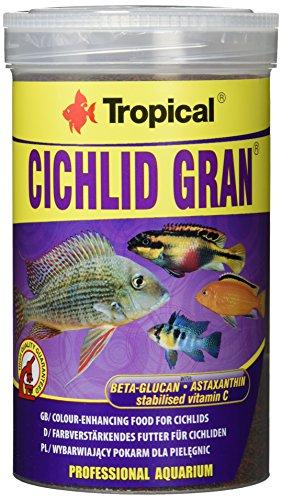 Tropical Cichlid Gran - farbverstärkendes Granulatfutter mit Beta-Glucan, 1er Pack (1 x 1 l) -
